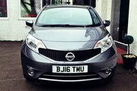USED 2016 16 NISSAN NOTE 1.2 ACENTA 5d 80 BHP GREAT VALUE NISSAN NOTE