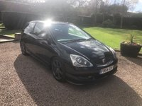 2005 HONDA CIVIC 2.0 TYPE-R 3d 200 BHP £4699.00