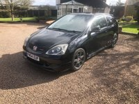 USED 2005 54 HONDA CIVIC 2.0 TYPE-R 3d 200 BHP Fantastic genuine car with no extras this car has been kept to an high standard