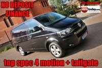 USED 2015 15 VOLKSWAGEN TRANSPORTER 2.0 T32 TDI HIGHLINE 4MOTION BMT 140 BHP + TAILGATE + 4X4 1 KEEPER + 4MOTION + TAILGATE + AIR CON