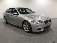 USED 2015 64 BMW 5 SERIES 2.0 520D M SPORT 4d AUTO 188 BHP