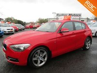 USED 2012 BMW 1 SERIES 1.6 116I SPORT 5d 135 BHP