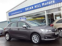 USED 2016 16 CITROEN C4 1.6 HDi FLAIR  5dr (118bhp) ....ONE OWNER. FULL CITROEN SERVICE HISTORY. (Zero road tax & 78mpg).