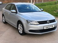USED 2013 13 VOLKSWAGEN JETTA 1.6 SE TDI BLUEMOTION TECHNOLOGY 4d 104 BHP FULL SERVICE RECORD *  1 PREVIOUS KEEPER *  MOT MARCH 2020 *  BLUETOOTH *