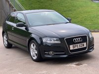 USED 2011 11 AUDI A3 1.6 TDI SE 3d AUTO 103 BHP 2 PREVIOUS KEEPERS *  FULL YEAR MOT *  SERVICE RECORD *  TRACTION CONTROL *  PRIVACY GLASS *
