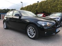 USED 2014 64 BMW 1 SERIES 1.6 116D EFFICIENTDYNAMICS 5d  WITH LOW MILEAGE NO DEPOSIT  PCP/HP FINANCE ARRANGED, APPLY HERE NOW