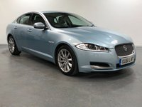 USED 2011 61 JAGUAR XF 2.2 D LUXURY 4d AUTO 190 BHP EXCELLENT 7 STAMP SERVICE HISTORY