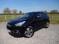 USED 2014 64 HYUNDAI IX35 1.7 PREMIUM CRDI 5d 114 BHP ONLY 1 PRIVATE OWNER WITH FULL HYUNDAI SERVICE HISTORY