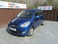 USED 2011 11 HYUNDAI I10 1.2 ACTIVE 5d 85 BHP FINANCE AVAILABLE FROM £21 PER WEEK OVER TWO YEARS - SEE FINANCE LINK FOR DETAILS