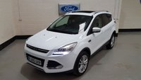 2016 FORD KUGA 2.0 TITANIUM X TDCI 5d 148 BHP 2016 / PANORAMIC SUNROOF £12677.00