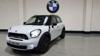 2016 MINI COUNTRYMAN 2.0 COOPER SD 5d AUTO 141 BHP £12977.00