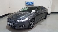 """USED 2016 16 FORD MONDEO 2.0 TITANIUM TDCI 5d AUTO 177 BHP 1 Owner/X PACK/Sat-Nav/19""""Alloys/Heated Leather/Cruise"""