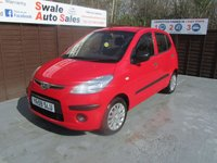 USED 2009 59 HYUNDAI I10 1.2 CLASSIC 5d 77 BHP FINANCE AVAILABLE FROM £32 PER WEEK OVER TWO YEARS - SEE FINANCE LINK FOR DETAILS