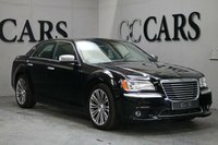 USED 2012 62 CHRYSLER 300C 3.0 CRD EXECUTIVE 4d AUTO 236 BHP Black Full Leather Heated Air Cooled Electric Seats, Satellite Navigation + Bluetooth Connectivity + DAB Radio + Alpine Premium Sound, Automatic Bi-Xenon Headlights + Power Wash,  20 Inch Graphite Grey Alloy Wheels + Tyre Pressure Monitor, Leather Multi Function Steering Wheel + Paddle Shift, Active Cruise Control, Electric Sunroof, Heated Electric Powerfold Mirrors, Front and Rear Park Distance Control + Reverse Camera, Blind Spot Monitor