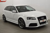 USED 2012 62 AUDI RS3 2.5 QUATTRO 5d AUTO 340 BHP LOW MILES + STUNNING IN WHITE + SAT NAV + NO ADMIN FEES