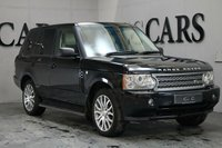 USED 2009 09 LAND ROVER RANGE ROVER 3.6 TDV8 AUTOBIOGRAPHY 5d AUTO 272 BHP Ivory and Black Two Tone Perforated Heated Electric Leather Memory Seats with Contrast Stitch, HDD Satellite Navigation + Rear Entertainment + Bluetooth Connectivity + Harmon Kardon Premium Sound, 20 Inch Alloy Wheels, Factory Fitted Side Steps, Heated Leather Multi Function Steering Wheel, Cruise Control, Dual Zone Climate Control, Electric Sunroof,