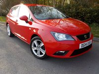 2014 SEAT IBIZA 1.4 TOCA 5d 85 BHP £5995.00