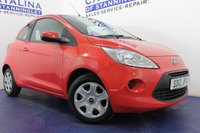 USED 2012 12 FORD KA 1.2 EDGE 3d 69 BHP JUST 2 OWNERS FROM NEW - JUST MOT'D AND SERVICED - BEAUTY COLOUR