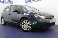 USED 2011 61 VOLKSWAGEN GOLF 1.6 MATCH TDI 5d 103 BHP EXCELLENT SERVICE HISTORY - DAB RADIO - BLUETOOTH - FRONT AND REAR PARKING SENSORS - ALLOY WHEELS - HUGE MPG - £30 ROAD TAX