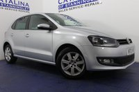 USED 2013 13 VOLKSWAGEN POLO 1.2 MATCH EDITION 5d 59 BHP CRUISE CONTROL - REAR PARKING SENSORS - ALLOY WHEELS - LOW MILES - AA INSPECTED