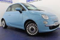 USED 2014 63 FIAT 500 1.2 LOUNGE 3d 69 BHP LOW MILES - 1 OWNER - SERVICE HISTORY - ALLOY WHEELS - BEAUTIFUL COLOUR