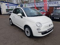 USED 2009 59 FIAT 500 1.2 LOUNGE 3d 69 BHP 0%  FINANCE AVAILABLE ON THIS CAR PLEASE CALL 01204 393 181