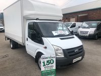 2009 FORD TRANSIT  LUTON  2.4 350 100 BHP NO VAT TO PAY FULL SERVICE HISTORY  £5995.00