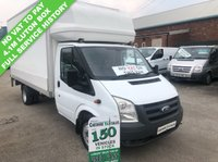 USED 2009 59 FORD TRANSIT  LUTON  2.4 350 100 BHP NO VAT TO PAY FULL SERVICE HISTORY  NO VAT TO PAY ON THIS VAN FULL SERVICE HISTORY