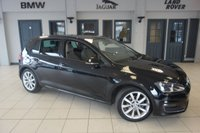 USED 2015 15 VOLKSWAGEN GOLF 2.0 GT TDI BLUEMOTION TECHNOLOGY 5d 148 BHP FINISHED IN STUNNING BLACK WITH BEIGE CLOTH SEATS + FULL VW SERVICE HISTORY + BLUETOOTH + 17 INCH ALLOYS + £20 ROAD TAX + DAB RADIO + 1 OWNER + PARKING SENSORS + CRUISE CONTROL + AIR CONDITIONING