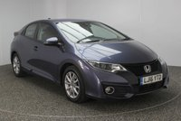 USED 2016 16 HONDA CIVIC 1.6 I-DTEC SE PLUS 5DR 118 BHP FULL SERVICE HISTORY FREE ROAD TAX 1 OWNER FULL SERVICE HISTORY + FREE 12 MONTHS ROAD TAX + REVERSE CAMERA + BLUETOOTH + PARKING SENSOR + CRUISE CONTROL + CLIMATE CONTROL + MULTI FUNCTION WHEEL + XENON HEADLIGHTS + RADIO/CD/USB + ELECTRIC WINDOWS + ELECTRIC MIRRORS + 16 INCH ALLOY WHEELS