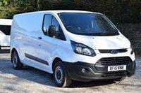 2015 FORD TRANSIT CUSTOM 2.2 290 LR P/V 1d 99 BHP £7750.00