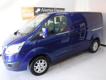2014 FORD TRANSIT CUSTOM 2.2 270 LIMITED LR P/V 1d 124 BHP £12990.00