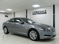 USED 2013 63 JAGUAR XF 2.2 D LUXURY 4d AUTO 200 BHP