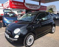 2009 FIAT 500 1.2 LOUNGE 3d 69 BHP *ONLY 25,000 MILES* £4995.00