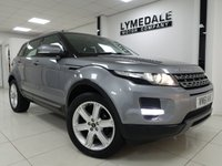 USED 2012 61 LAND ROVER RANGE ROVER EVOQUE 2.2 SD4 PURE TECH 5d AUTO 190 BHP