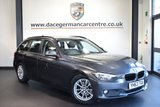 USED 2013 63 BMW 3 SERIES 2.0 320D EFFICIENTDYNAMICS BUSINESS TOURING 5DR 161 BHP full service history  *NO ADMIN FEES* FINISHED IN STUNNING MINERAL METALLIC GREY WITH FULL BLACK LEATHER INTERIOR + FULL SERVICE HISTORY + SATELLITE NAVIGATION + BLUETOOTH + CRUISE CONTROL + DUAL CLIMATE CONTROL + PARKING SENSORS + CD/USB/AUX MEDIA + HEATED SEATS +  RAIN SENSOR + 16 INCH ALLOY WHEELS