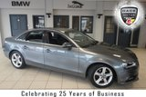 USED 2015 64 AUDI A4 2.0 TDI SE TECHNIK 4d 134 BHP FINISHED IN STUNNING MONSOON GREY WITH FULL BLACK LEATHER SEATS + EXCELLENT AUDI SERVICE HISTORY + SATELLITE NAVIGATION + BLUETOOTH + ELECTRIC TAILGATE + £30 ROAD TAX + 17 INCH ALLOYS + DAB RADIO + FRONT AND REAR PARKING SENSORS + CRUISE CONTROL + FRONT AND REAR FOG LIGHTS + AUTO LIGHTS AND WIPERS....