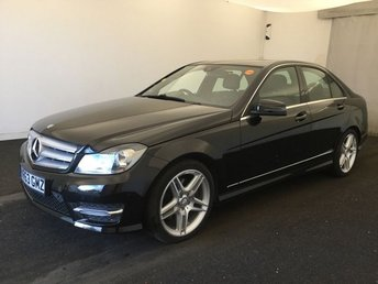 2013 MERCEDES-BENZ C-CLASS 3.0 C350 CDI BLUEEFFICIENCY AMG SPORT 4d AUTO 262 BHP £12000.00