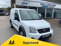 USED 2013 63 FORD TRANSIT CONNECT 1.8 T200 CREWVAN 89 BHP Ford Transit Connect 1.8 T200 Crew Van White 12 Months AA Breakdown Cover