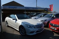 2013 MERCEDES-BENZ E-CLASS 2.1 E250 CDI BLUEEFFICIENCY SPORT 2d AUTO 204 BHP £14999.00