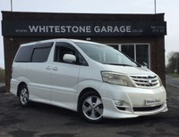 USED 2005 55 TOYOTA ALPHARD AS LTD LOW MILES, 2.4, 8 SEATS, REAR SWIVEL SEATS, ELECTRIC SIDE DOOR,  RETRACTABLE MIRRORS, CLIMATE CONTROL,