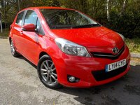 2014 TOYOTA YARIS 1.3 VVT-I ICON PLUS 5d 99 BHP £6595.00