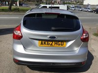 USED 2012 62 FORD FOCUS 1.6 ZETEC TDCI 5d 113 BHP, only 70000 miles ***APPROVED DEALER FOR CAR FINANCE247 AND ZUTO  ***