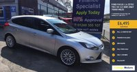 2012 FORD FOCUS 1.6 ZETEC TDCI 5d 113 BHP, only 70000 miles £5995.00