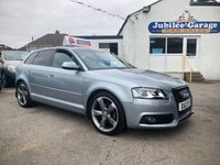 """USED 2012 12 AUDI A3 2.0 SPORTBACK TDI S LINE SPECIAL EDITION 5d 138 BHP S Line, Black Edition, Bose, 18"""" Alloys, Cruise Control"""