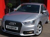 2015 AUDI A1 SPORTBACK 1.6 TDI SPORT 5d 115 S/S £9483.00