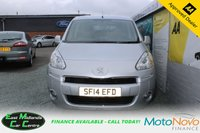 USED 2014 14 PEUGEOT PARTNER 1.6 HDI TEPEE S 5d 92 BHP  WHEEL CHAIR RAMP FITTED