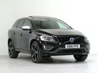 2015 VOLVO XC60 2.4 D5 R-DESIGN LUX NAV AWD 5d AUTO 217 BHP [4WD] [£4,370 OPTIONS] £18448.00