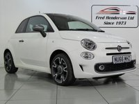 USED 2016 66 FIAT 500 S Dualogic Fiat 500 S  Dualogic One owner from new ,Full dealer service history ,Low mileage, cheap insurance and only £20 tax per year. Satellite Navigation, Rear parking sensors