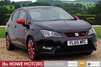 USED 2016 65 SEAT IBIZA 1.2 TSI FR RED EDITION TECHNOLOGY 5d 109 BHP NAVIGATION 17